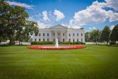 Белый Дом в Вашингтоне, d.c. Стоковые Фото