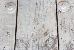 Белый деревянный предкрылок Стоковые Фото