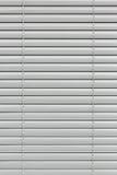 Белый закрытый jalousie стоковые изображения rf