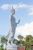 Белый идти статуи Будды Стоковое Изображение RF