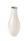 Белый керамический изолят бутылки на белой предпосылке Стоковое Изображение RF