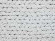 Белый конец текстильной ткани вверх по предпосылке стоковое фото