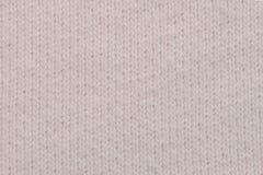 Белый крупный план текстуры ткани Полезно как предпосылка стоковые изображения