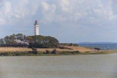 Белый маяк Стоковое Фото
