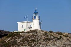 Белый маяк Стоковая Фотография RF