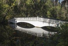 Белый мост Стоковое Фото
