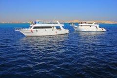 Яхты мотора Стоковое Изображение RF