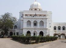 Белый музей gandhi стоковые изображения