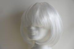 белый парик Стоковое фото RF