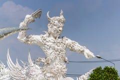 Белый попечитель, Таиланд стоковые фотографии rf
