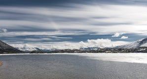 Белый пропуск Аляска Стоковое Фото