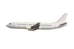 Белый самолет стоковая фотография rf