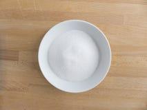 Белый сахар Стоковые Фотографии RF