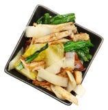 Белый салат эндивия стоковое изображение rf