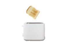 Белый тостер Стоковое Фото