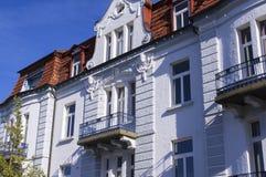 Белый фасад здания Стоковые Фото