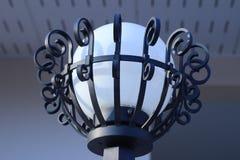Белый фонарик украсил домой Стоковая Фотография RF