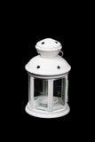 Белый фонарик Стоковое Изображение RF