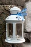Белый фонарик стоковые изображения