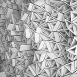 Белый фон треугольников Стоковое Изображение RF