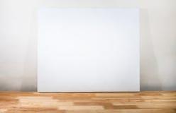 Белый холст Стоковое Изображение