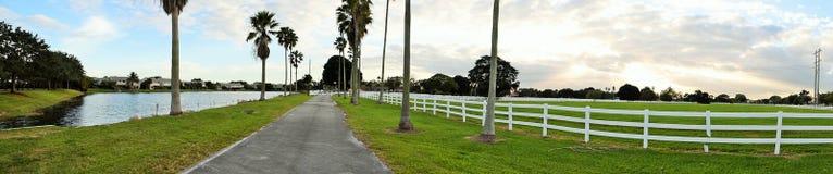 Белый частокол в Флориде Стоковое Изображение