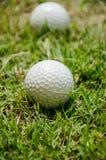 Белый шар для игры в гольф Стоковые Изображения RF