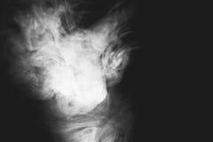 Белый дым Стоковая Фотография RF