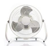 Белый электрический вентилятор Стоковая Фотография RF