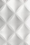 Белый Bac стены плитки полистироля конспекта 3D современный домашний внутренний Стоковая Фотография RF