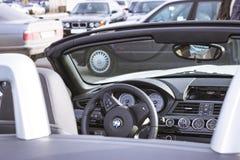 Белый BMW-автомобиль z4 coupe Стоковое Изображение RF