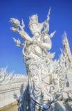 Белый faerie на rongkhun Wat Стоковые Фото