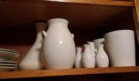 Белый kitchenware Стоковое Фото