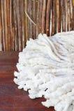 Белый mop Стоковая Фотография