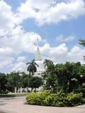 Белый Pagoda Стоковые Изображения RF