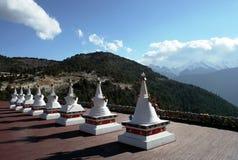 Белый Pagoda Стоковое Изображение