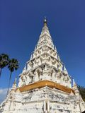 Белый Pagoda Стоковая Фотография RF