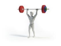 Weightlifter Стоковая Фотография RF