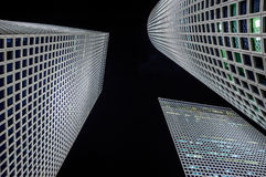 3 белых башни Стоковая Фотография