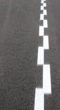 2 белых брошенных линии стоковая фотография rf
