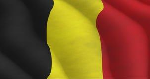 бельгийский флаг Стоковая Фотография RF