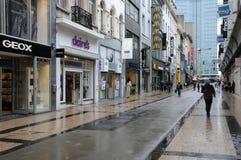 Бельгия, живописный город Брюсселя Стоковое Фото
