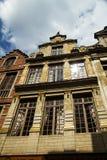 Бельгия красивая старая часть здания Стоковое Фото