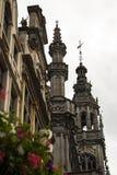 Бельгия красивая старая часть здания Стоковое фото RF
