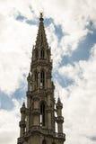 Бельгия красивая старая часть здания Стоковое Изображение