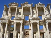 Библиотека Celsus в Ephesus Стоковое Фото