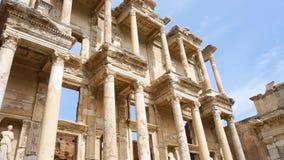 Библиотека Celsus древнего города Ephesus видеоматериал