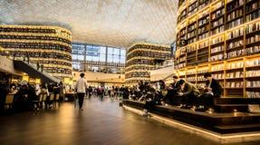 Библиотека Starfield в моле COEX Стоковое фото RF