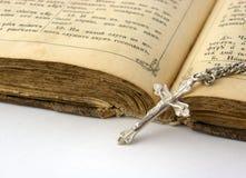 библия старая Стоковая Фотография