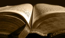 библия старая Стоковое Изображение RF